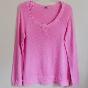 Splendid Bright Pink Cotton Sweatshirt